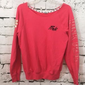 VS Pink French terry sweatshirt